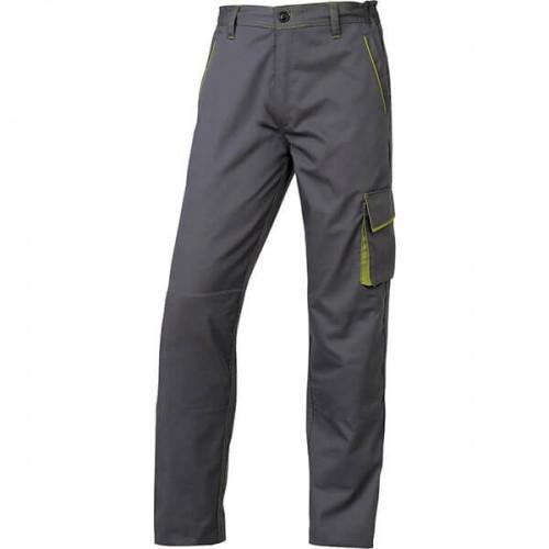 Παντελόνι Εργασίας PANOSTYLE - M6PAN Από Πολυεστέρα / Βαμβάκι - Χρώμα: Γκρι - Πράσινο