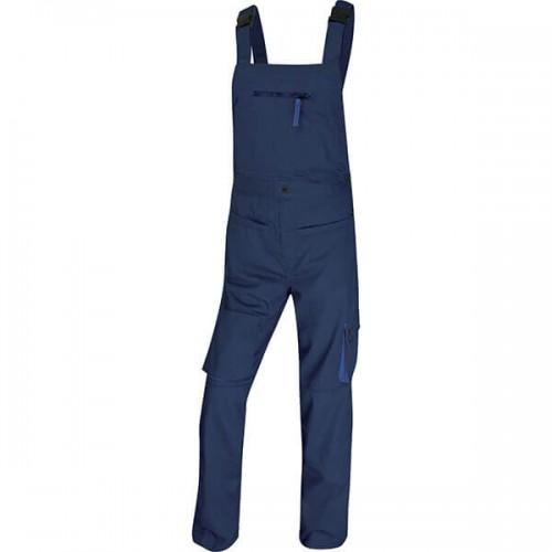 Φόρμα Εργασίας ΜΑCH2 - M2SAL Από Πολυεστέρα / Βαμβάκι - Χρώμα: Μπλε Μαρίν-Μπλε Ρουά