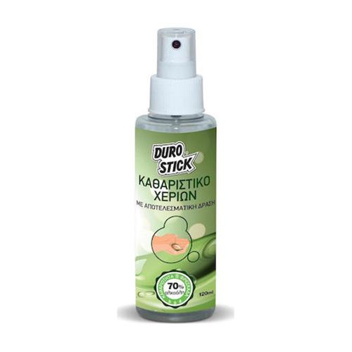 Καθαριστικό Χεριών Hand Cleaner με Αλκοόλη Durostick 120 ml