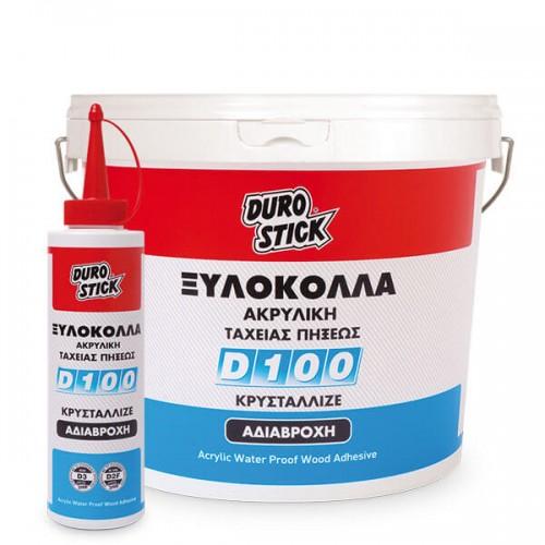D-100 Durostick 500 gr. Ακρυλική ξυλόκολλα ταχείας πήξεως με αντοχή στην υγρασία