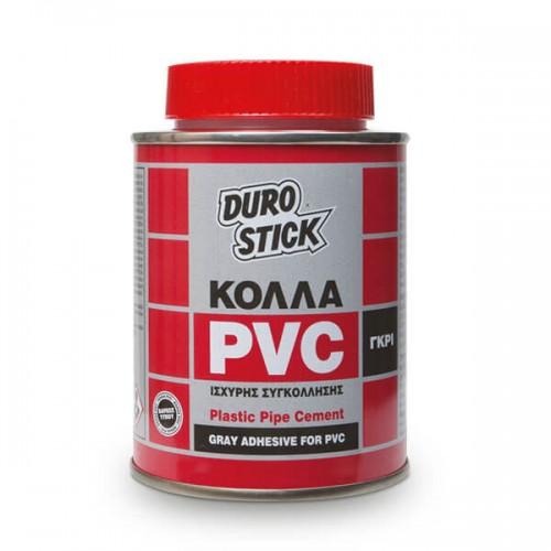 PVC Κόλλα Durostick Γκρι 250 ML