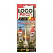 Logo Epoxy Fast Εποξική Kόλλα 2 συστατικών 34 ml