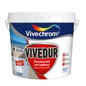 VIVEDUR Vivechrom. Στεγανωτικό και μονωτικό χρώμα για ταράτσες Λευκό 10 Lt