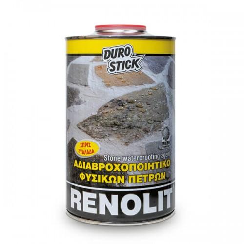 RENOLIT Durostick. Αδιαβροχοποιητικό διακοσμητικών πετρών 1 Lt