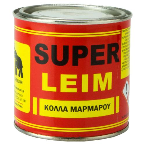 SUPER LEIM Απόλλων Κόλλα Μαρμάρου Λευκή 930gr
