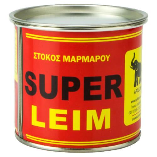 SUPER LEIM Απόλλων Στόκος Μαρμάρου Λευκός 930gr