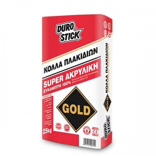 GOLD Durostick εύκαμπτη κόλλα πλακιδίων 25 Kg