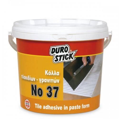 No37 Durostick Αδιάβροχη ρευστή κόλλα πλακιδίων 5 Kg