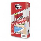 Extra Power Durostick 100% Βινακρυλική εύκαμπτη κόλλα πλακιδίων 25 Kg