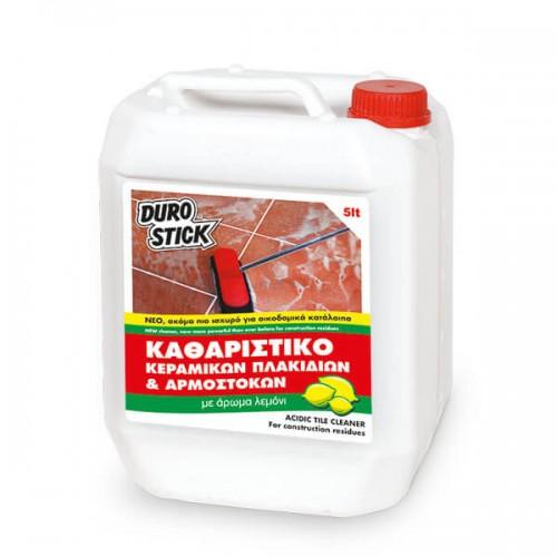 Καθαριστικό Κεραμικών πλακιδίων και Αρμόστοκων Durostick 5 Lt