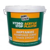 Hydrostop Acrylic Plaster Fine, Durostick 25 Kg. Ακρυλικός σοβάς σε μορφή πάστας