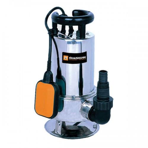 Υποβρύχια Αντλία Ακαθάρτων Υδάτων Ιnox Krausmann 750W 4600