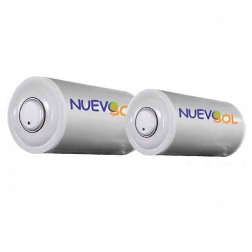 Nuevosol BLGQS 120 lt Glass Boiler Ηλιακού Διπλής Ενέργειας
