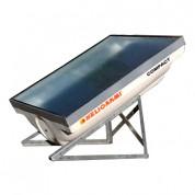 Ηλιακός Θερμοσίφωνας Helioakmi Compact 200lt Διπλής Ενέργειας