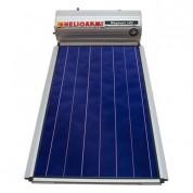 Ηλιακός Θερμοσίφωνας Helioakmi Megasun 120 lt / 2,10 m² με επιλεκτικό κάθετο Συλλέκτη Τιτανίου Διπλής Ενέργειας με Glass Boiler