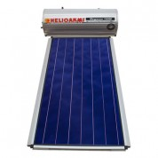 Ηλιακός Θερμοσίφωνας Helioakmi Megasun Μ160 lt / 2,10 m² με επιλεκτικό κάθετο Συλλέκτη Τιτανίου Τριπλής Ενέργειας με Glass Boiler