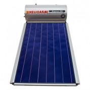 Ηλιακός Θερμοσίφωνας Helioakmi Megasun 200 lt / 2,62 m² με επιλεκτικό κάθετο Συλλέκτη Τιτανίου Διπλής Ενέργειας με Glass Boiler