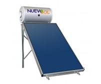 Ηλιακός Θερμοσίφωνας Nuevosol 120 lt με επιλεκτικό κάθετο συλλέκτη, επιφάνειας 1,95 m², διπλής ενέργειας με Glass Boiler