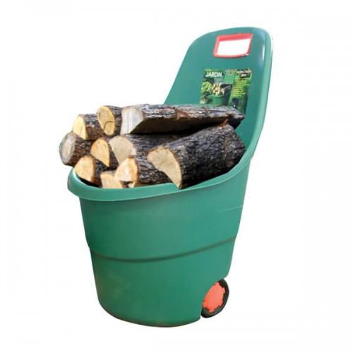 Καρότσι Κήπου-Ξύλων Πλαστικό με Ρόδες 60 Lt