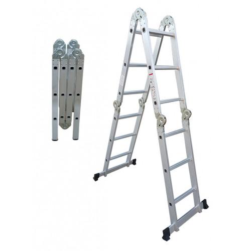 Σκάλα Αλουμινίου Πολλαπλής Χρήσης ίσια με τραβέρσες Profal 205205-2