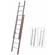 Σκάλα Αλουμινίου διπλή πτυσσόμενη αποσπώμενη 2x19 Σκαλοπάτια Profal 800419