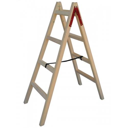 Σκάλα Ξύλινη τετράποδη 4+4 Σκαλοπάτια Profal 802204