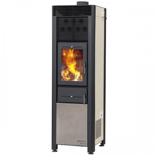 ΒΕΡΝΟΝ fire 45 Σόμπα ξύλου από Χάλυβα ΑΕΡΟΘΕΡΜΗ
