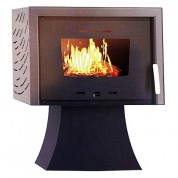 Thermiki ATS 100 Υδραυλική Σόμπα ξύλου από Χάλυβα