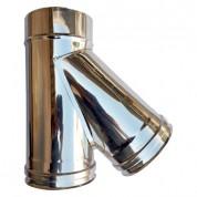 Ημιτάφ Διπλού Τοιχώματος Inox Φ100-150 135°