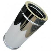 Καμινάδα Διπλού Τοιχώματος Inox 0,5 m Φ100-150