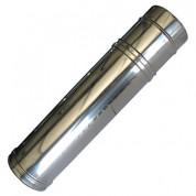 Καμινάδα Διπλού Τοιχώματος Inox ρυθμ. 0,55 m - 0,95 m Φ100-150