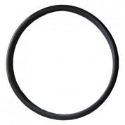 Φλάντζα Σιλικόνης Μαύρη 200°C Καμινάδας Διπλού Τοιχώματος Inox Φ100-150