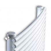 Θερμαντικό σώμα καλοριφέρ μπάνιου K-ENERGY ΔΗΜΗΤΡΑ Λευκό 600x1760 / 1131 kcal/h