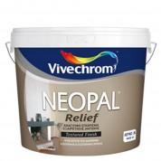 NEOPAL RELIEF, Vivechrom. Aνάγλυφο διακοσμητικό επίχρισμα Λευκό 15 Kg