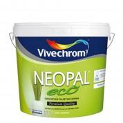 NEOPAL ECO, Vivechrom. Οικολογικό πλαστικό χρώμα Λευκό 10 Lt
