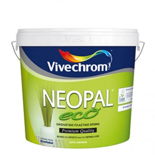 NEOPAL ECO, Vivechrom. Οικολογικό πλαστικό χρώμα Λευκό 750 ML