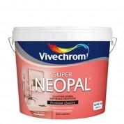 SUPER NEOPAL, Vivechrom. Πλαστικό χρώμα Λευκό 10Lt