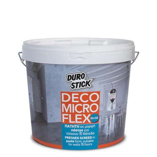 DS-258 DECO MICRO FLEX Durostick. Πατητή σε μορφή πάστας για τοίχους και δάπεδα. 5 kg