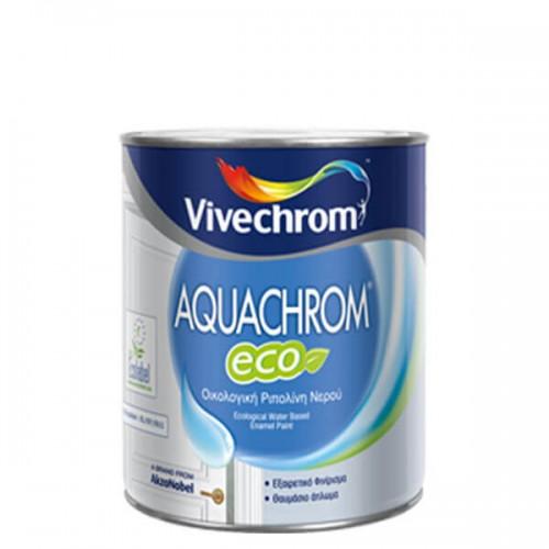 AQUACHROM ECO, Vivechrom. Oικολογική ριπολίνη νερού εξαιρετικής ποιότητας, για ξύλινες επιφάνειες 2,5 Lt