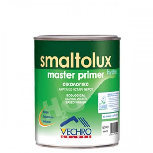 SMALTOLUX MASTER PRIMER ECO, Vechro. Οικολογικό ακρυλικό αστάρι πολλαπλών χρήσεων. Λευκό 750 ML