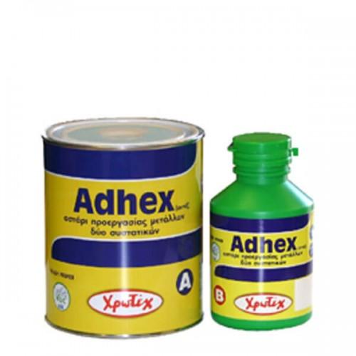 ADHEX, Χρωτέχ. Αστάρι προεργασίας για αλουμίνια και γαλβανιζέ 2 συστατικών 1,13 Lt