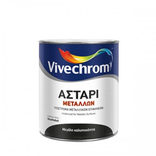 ΑΣΤΑΡΙ ΜΕΤΑΛΛΩΝ Λευκό, Vivechrom 750 ML