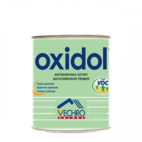 OXIDOL 750 ml Γκρι και Καφέ, Vechro. Αντισκωριακό Αστάρι