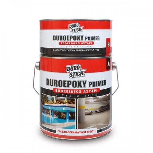 DUROEPOXY PRIMER Durostick. Εποξειδικό αστάρι πισίνας 2 συστατικών με διαλύτες, 2kg (A+B)