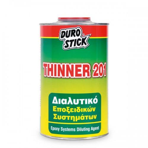 THINNER 201 Durostick. Διαλυτικό εποξειδικών συστημάτων, 1 lt
