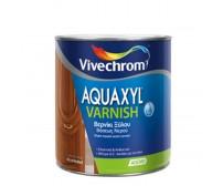 AQUAXYL VARNISH, Vivechrom 750 ml. Άχρωμο βερνίκι ξύλου βάσεως νερού
