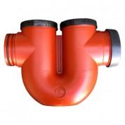 Μηχανοσίφωνας σπέσιαλ Αποχέτευσης FASOPLAST PVC - U Φ100