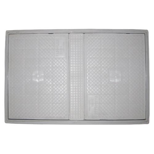 Φρεάτιο Αποχέτευσης 40 x 60 με πλαίσιο και καπάκι FASOPLAST PVC - U