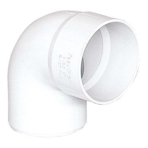 Γωνία Αποχέτευσης FASOPLAST Λευκή PVC - U 87,5° Φ32