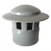 Καπέλα Αποχέτευσης FASOPLAST Γκρι PVC - U Φ75